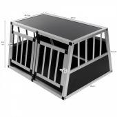 Cage transport chien - 89x69x50 (trapézoïdal)