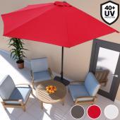 Demi-parasol Ø 3m