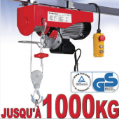 Treuil 230V - 1000 Kg
