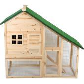 Cage pour lapins rongeurs petits animaux 2 étages