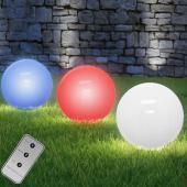 Lampe boule solaire LED