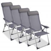 Chaises pliantes camping - x4
