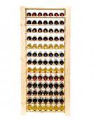 Range bouteille - casier a 121 bouteilles -  174x80x30cm