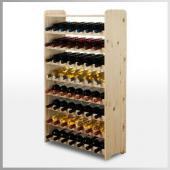 Range bouteille - casier a bouteille -  56 bouteilles