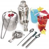 Set shaker cocktail 500 ml bar 8 accessoires