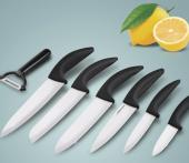 Ensemble de couteaux en céramique 7 pcs cuisine chef légumes éplucheur