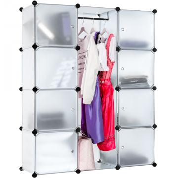 Etagères armoire penderie - armoire modulable