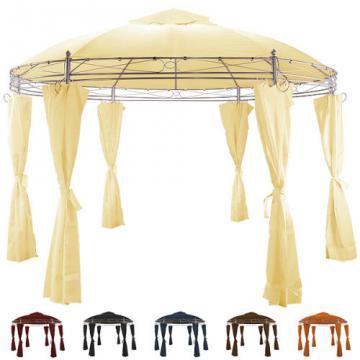 Pavillon Toscana 3,5 m tonnelle tente ronde réception