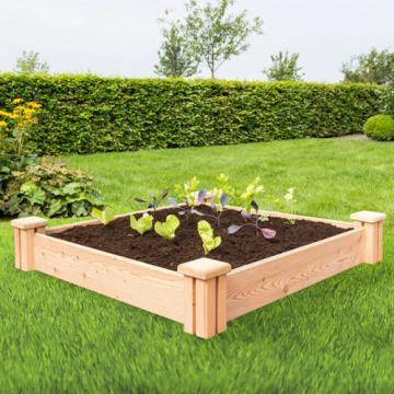 carre-potager - carre potager en bois - carré potager sur pied