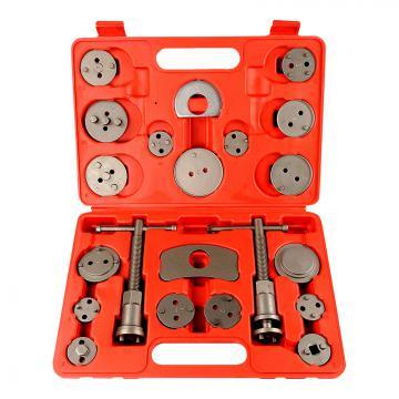 Coffret d'outils repousse piston étrier de frein 22 pièces avec mallett