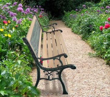 Banc exterieur - banc de jardin - banquette jardin