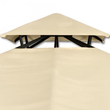 Pavillon, abris de jardin tonnelle 4×3 m Cappucino