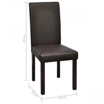 chaise coloniale - chaise salon - chaise cuir-3