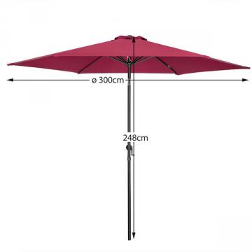 Parasol - parasol solde - parasol de jardin-11