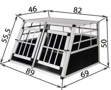 Caisse de transport chien - www.abc-prix.com