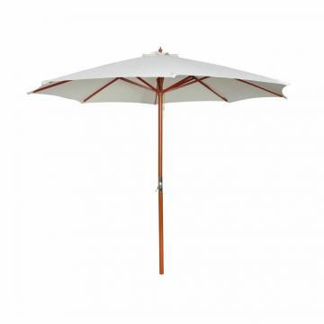 Parasol bois 3m - coloris