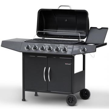 Barbecue Gaz 6+1 PRO - Noir