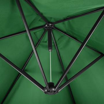 Parasol déporté - parasol excentré 3,50m