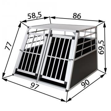 Cage de transport chien - caisse de transport chien - caisse chien