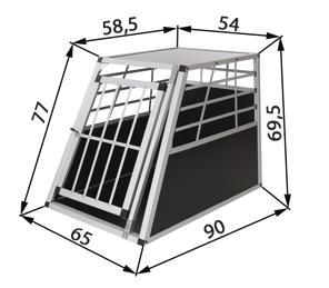 Cage de transport pour chien - Caisse chien - Caisse de transport