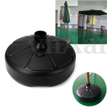 Pied de parasol ( à remplir d'eau - de gravier ) ou à bétonner
