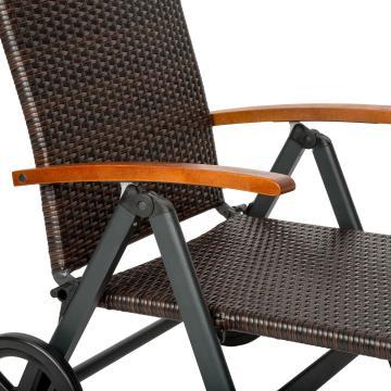 Transat jardin - transat pas cher - chaise longue pliante