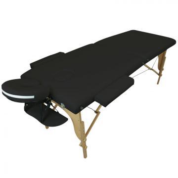 Table de massage BOIS 2 zones pliante