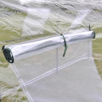 Serre tunnel de jardin - Serre de jardin pas chere - serre tonneau