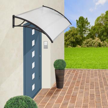 Auvent de porte banne entrée - 150cm -  marquise solaire abri ombre