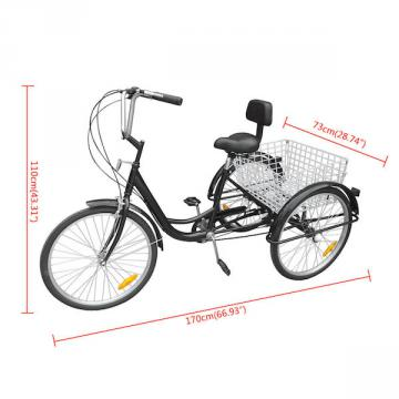 Tricycle adulte - tricycle electrique - velo roues