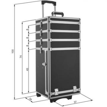 valise coiffure malette esthetique malette aluminium. Black Bedroom Furniture Sets. Home Design Ideas