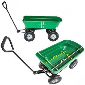 Chariot de jardin - chariot de jardin 4 roues - remorque jardin