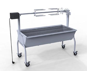 Barbecue/rôtissoire maxi 15kg - Vue 5