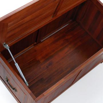 Malle de rangement - coffre de rangement - malle en bois