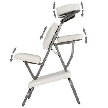 Chaise de massage multipositions
