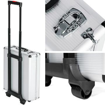 Caisse à outils mixtes trolley 377 pièces robuste universel pour bric