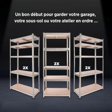 Etagere garage - Armoire metallique - Etagere charge lourde-29