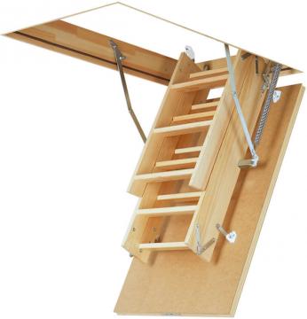 Escalier escamotable - escalier grenier - echelle escamotable-D