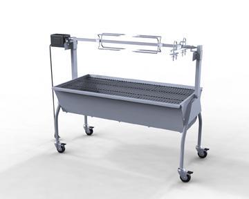 Barbecue/rôtissoire maxi 15kg - Vue 4