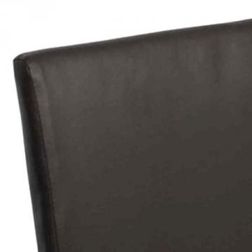 chaise coloniale - chaise salon - chaise cuir-2