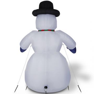 Bonhomme de neige gonflable