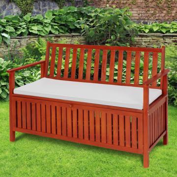 banc coffre exterieur banc en bois. Black Bedroom Furniture Sets. Home Design Ideas