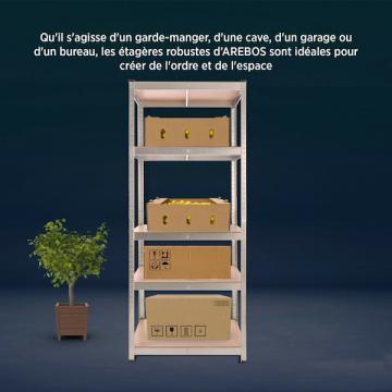 Etagere garage - Armoire metallique - Etagere charge lourde-30
