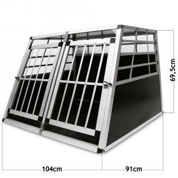 cage de transport grand chien cage chien voiture. Black Bedroom Furniture Sets. Home Design Ideas