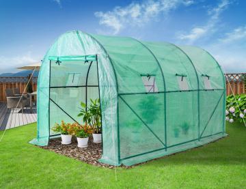 Serre de jardin pas chere - serres jardinage - serre tunnel-21