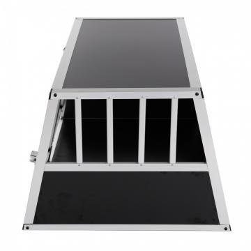 Cage de transport chien - cage chenil - caisse chien alu