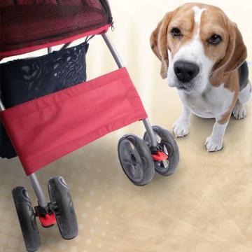 Poussette pour chien - remorque chien - caddie chien
