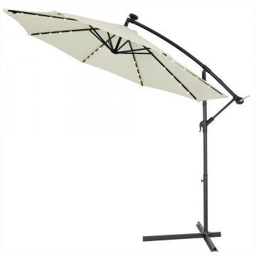 Parasol bois 3m - parasol pas cher - soldes parasol
