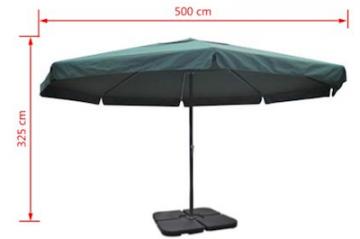 Parasol XXL - 5m