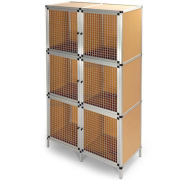 Clapier - Clapier lapin - Cage lapin - grande cage lapin